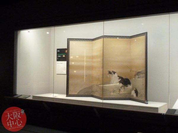 大阪歴史博物館 常設展示「年始に寄せて」