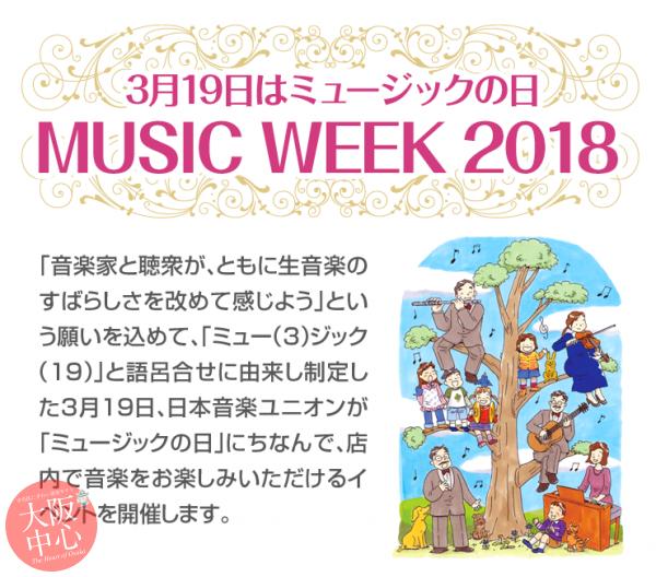 MUSIC WEEK 2018