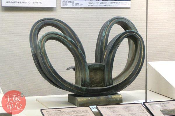 大阪歴史博物館 常設展示「大阪新歌舞伎座の建築」