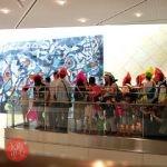 「親子で美術館探検&駅なかツアーワークショップ」観て・感じて!パズル絵画を描こう