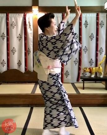 七夕奉納舞「北新地音頭」