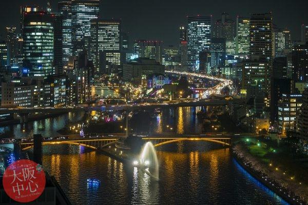 OSAKA光のルネサンスパノラマビュー OMM屋上を特別開放