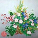 花に想いをよせて 武田けえこ 日本画展