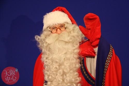 フィンランド旧ラップランド州公認サンタクロースがやってくる!