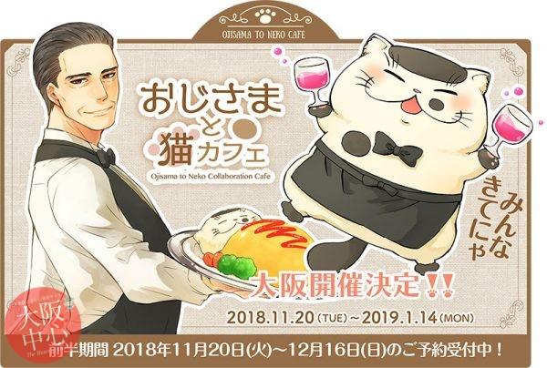 おじさまと猫カフェ大阪