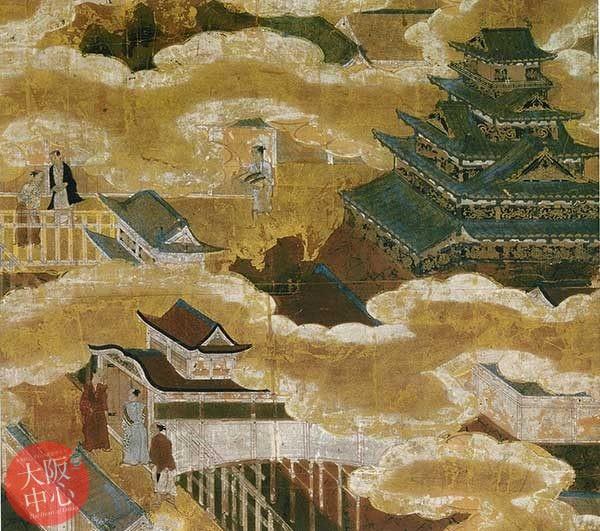 大阪城天守閣3階企画展示「大坂城を描いた絵画」