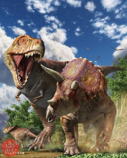 大恐竜展 in なんば~よみがえる地球の絶対王者~