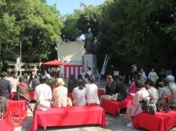 玉造稲荷神社 だんご茶会