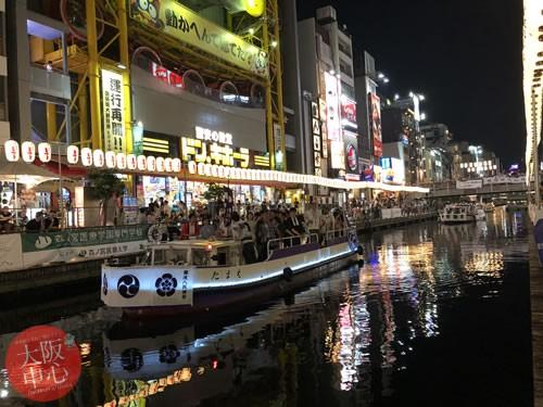難波八阪神社夏祭り 船渡御2019