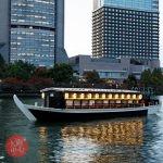 大阪屋形船で広重の浮世絵解説講座とリバークルーズを楽しむ・和食御膳つき