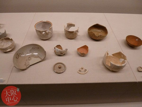 常設展示「堂島新地で出土した江戸時代の陶器窯関係資料」