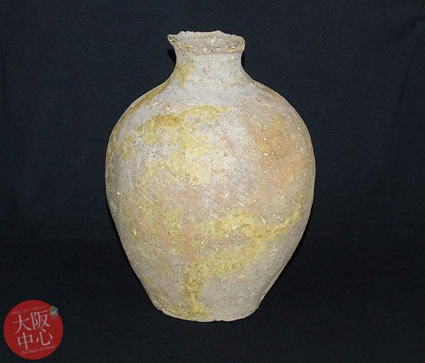常設展示「奈良時代の難波にもたらされた新羅土器」