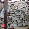 特別史跡大坂城跡の豊臣期石垣の発掘調査現場 一般公開